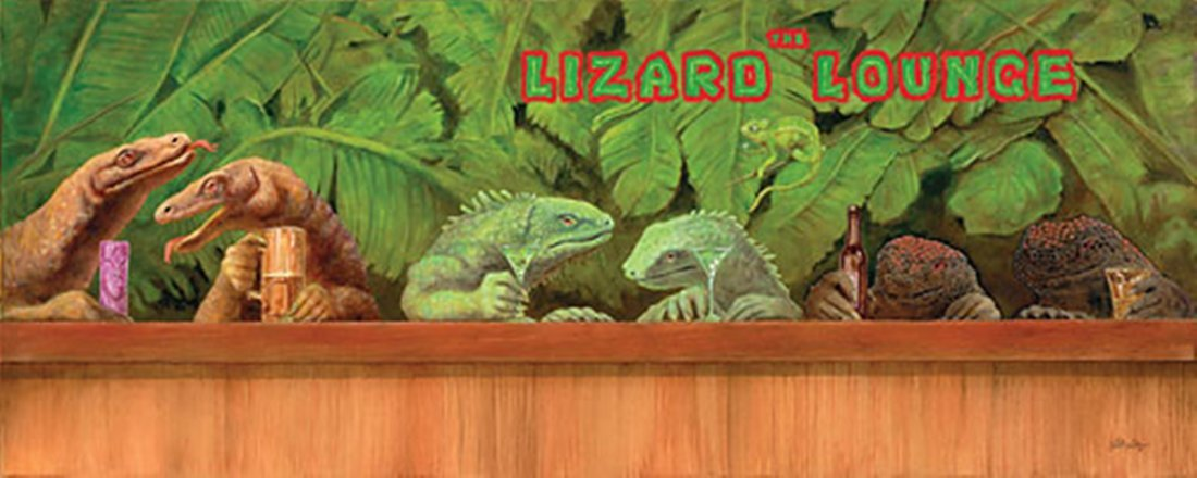 THE LIZARD LOUNGE - WILL BULLAS