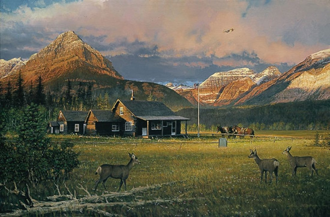 EARLY MORNING VISITORS - WILLIAM S. PHILLIPS