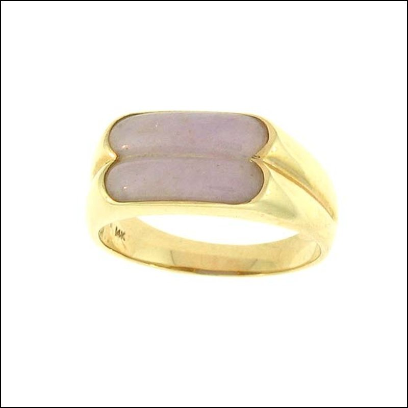 NATURAL LAVENDER JADE RING