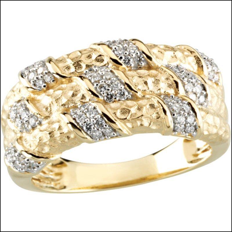 1/3 CT TW DIAMOND ANNIVERSARY BAND