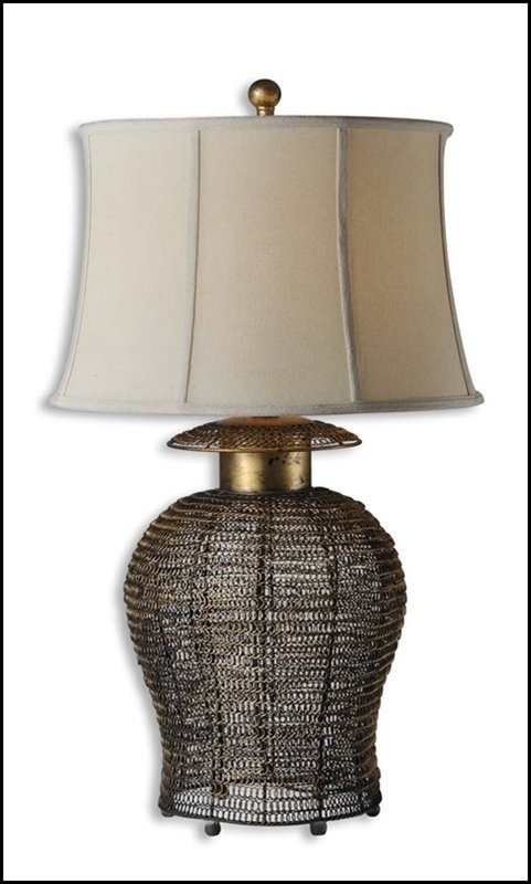 RICKMA WOVEN METAL TABLE LAMP