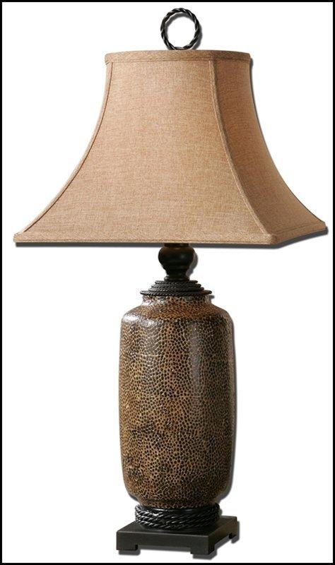GRAVINA ANTIQUE CHOCOLATE LAMP