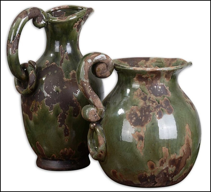 HANI FOREST GREEN PITCHERS, SET/2