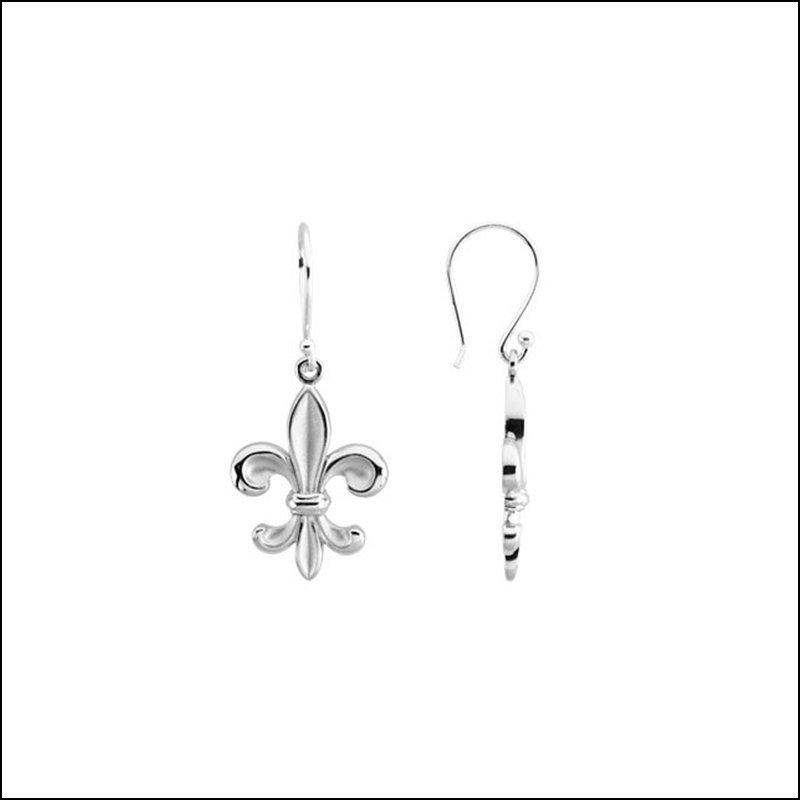 FLEUR-DE-LIS EARRINGS