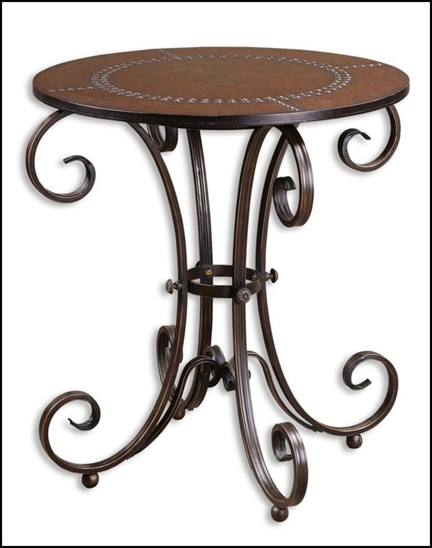 LYRA ROUND ACCENT TABLE