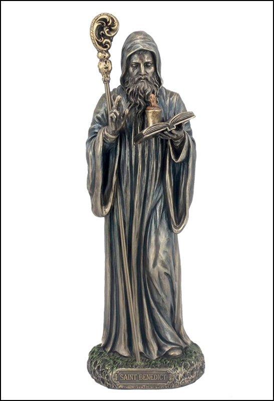 ST. BENEDICT - BRONZE