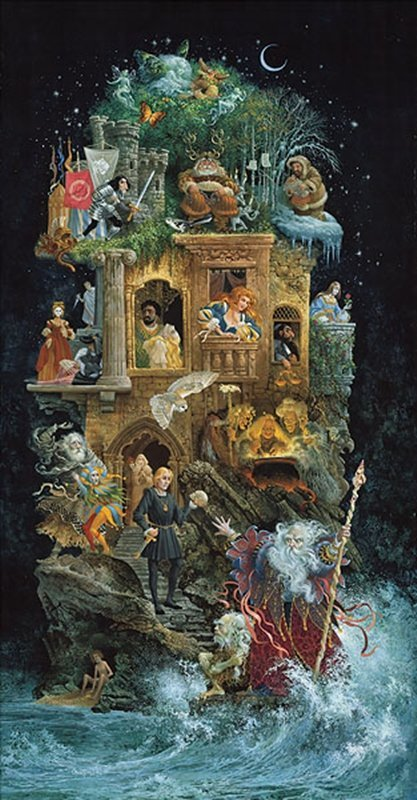 SHAKESPEAREAN FANTASY - JAMES C. CHRISTENSEN