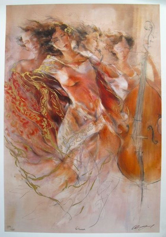 GARY BENFIELD VIRTUOSA HAND SIGNED LIMITED ED.