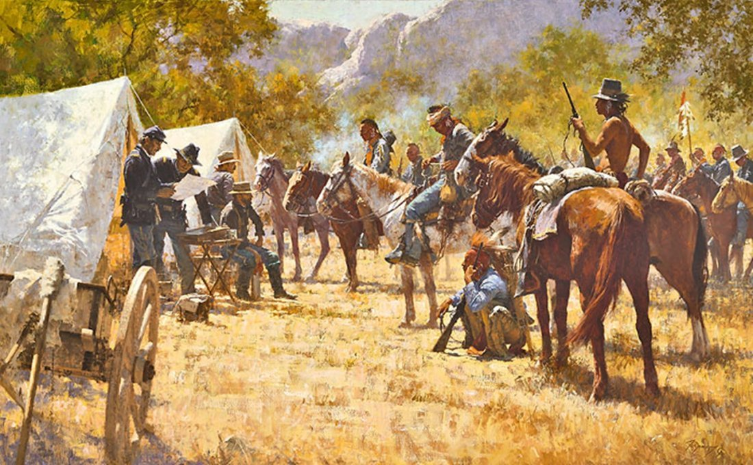 MAJOR NORTH AND THE PAWNEE BATTALION - HOWARD TERPNING