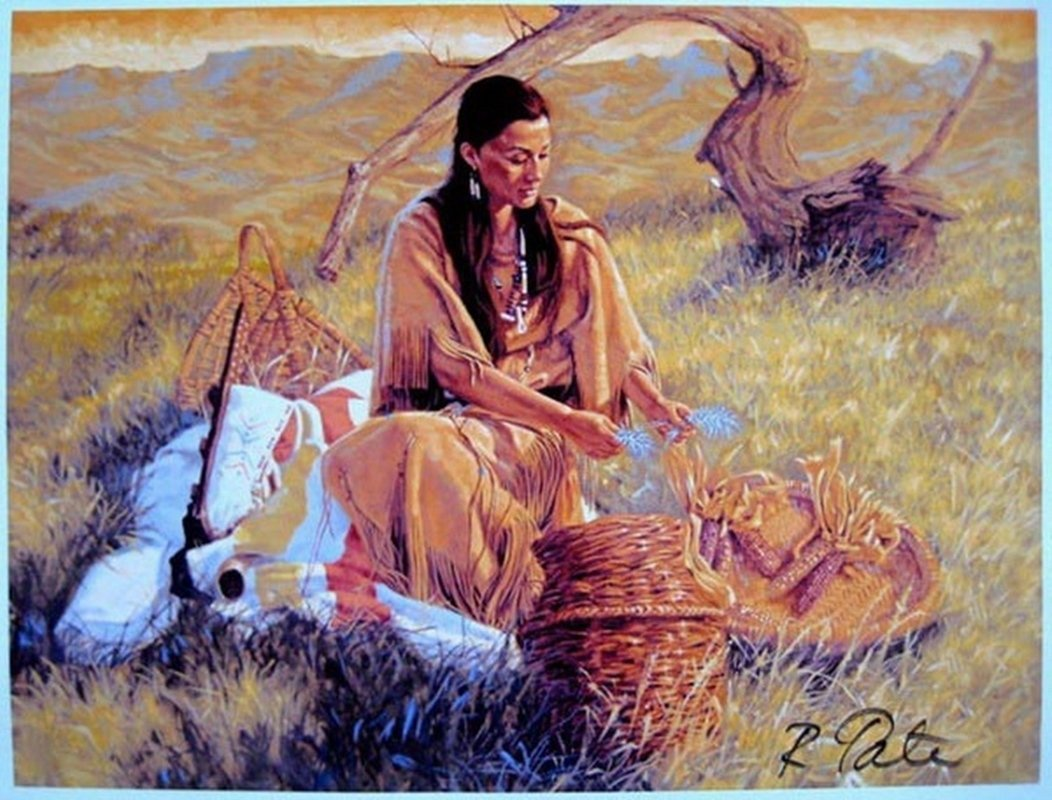 ROBERT TATE SWEET GRASS HAND SIGNED LIMITED ED. GICLEE