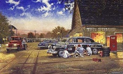 DAVE BARNHOUSE __FINISHING TOUCH, A ARTIST PROOF