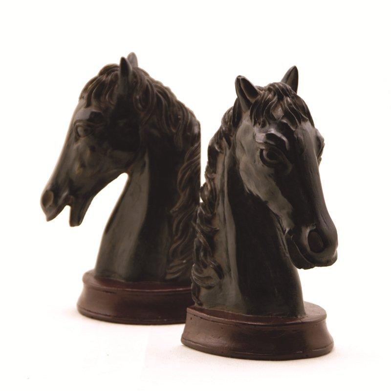 HORSEHEAD BOOKENDS PR