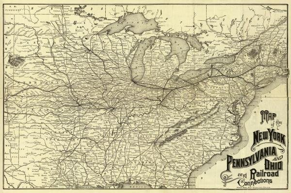 WESTERN RAILROAD COMPANY - NEW YORK, PENNSYLVANIA AND