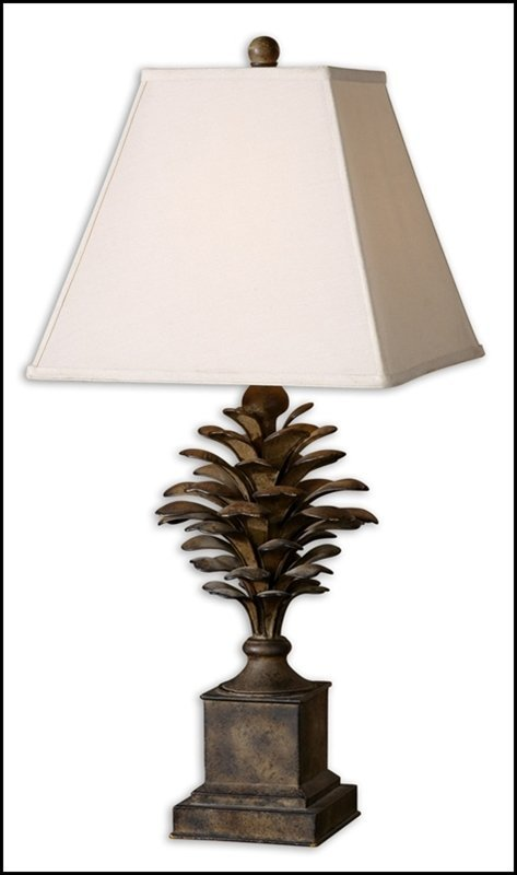 SUZUHA METAL LEAVES TABLE LAMP