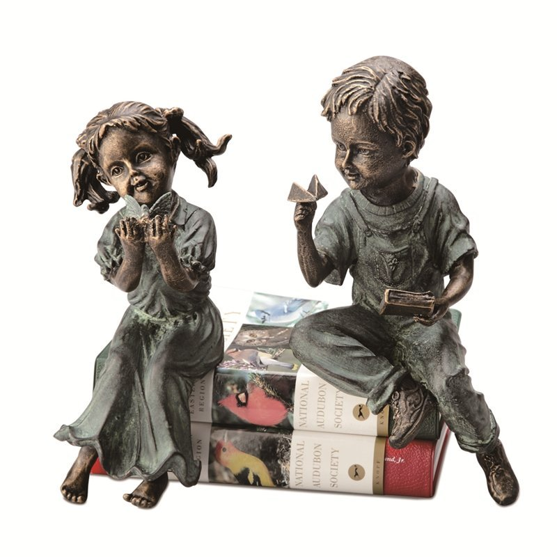 BOY & GIRL SHELF SITTERS