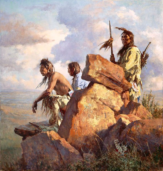 AMONG THE SPIRITS OF THE LONG-AGO PEOPLE - HOWARD
