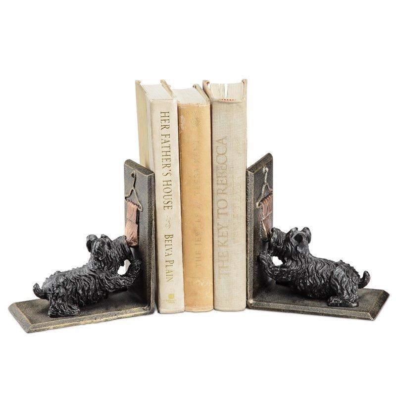 SCOTTIE DOG BOOKENDS