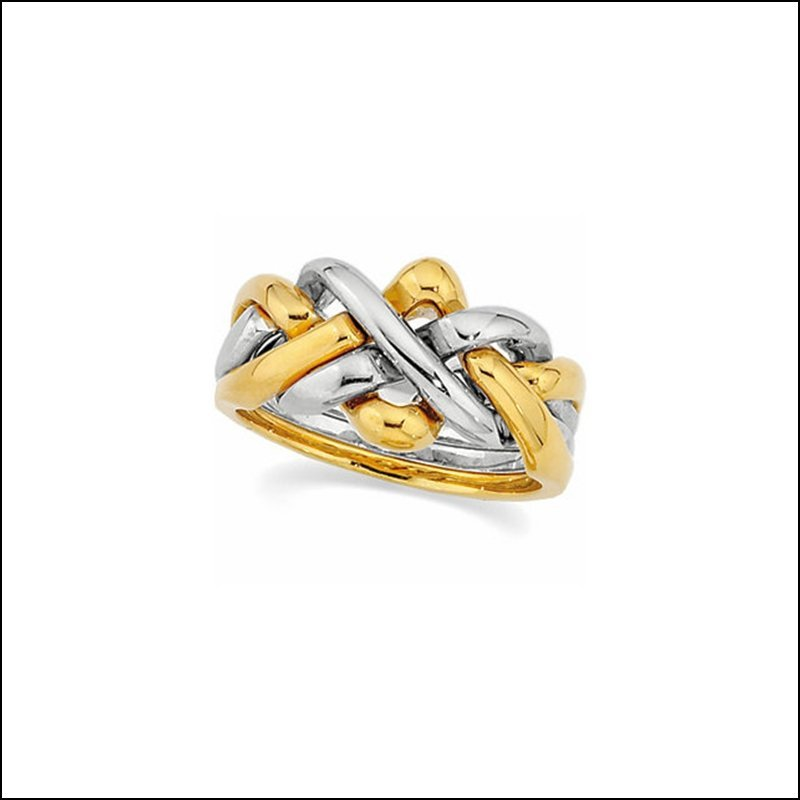 FOUR-PIECE PUZZLE RING