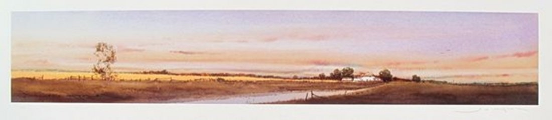 GED MITCHELL LANDSCAPE I LIMITED ED. HAND SIGNED GICLEE