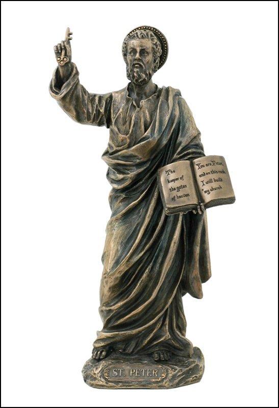 ST. PETER - BRONZE