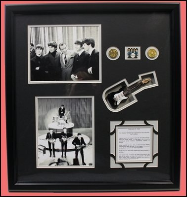 The Beatles - Ed Sulivan Show With Mini Guitar