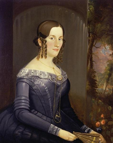 WILLIAM MATTHEW PRIOR - PORTRAIT OF A LADY