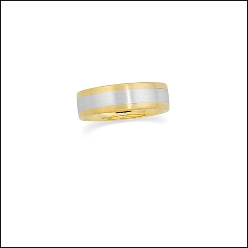 6MM TWO-TONE COMFORT-FIT BAND