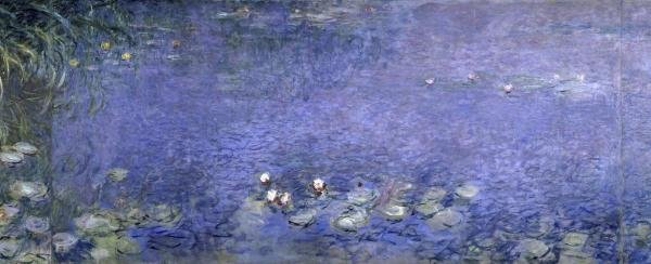 CLAUDE MONET - WATER LILIES (NYMPHAEAS) VI