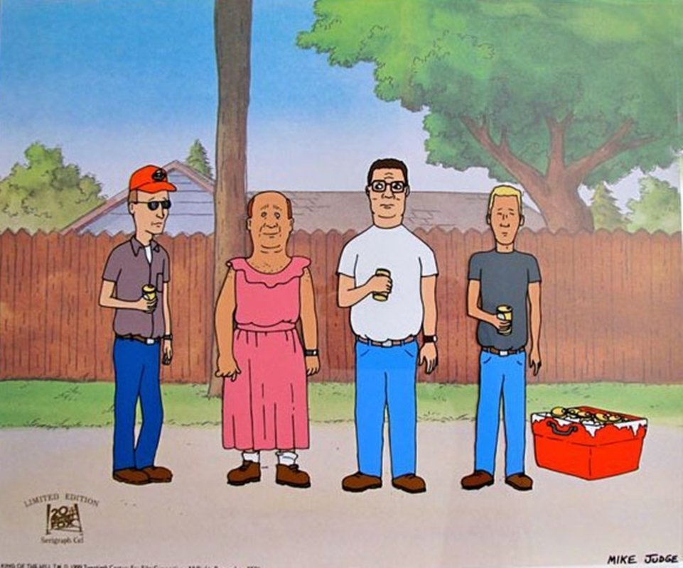 KING OF THE HILL MIKE JUDGE ANIMATION SERICEL