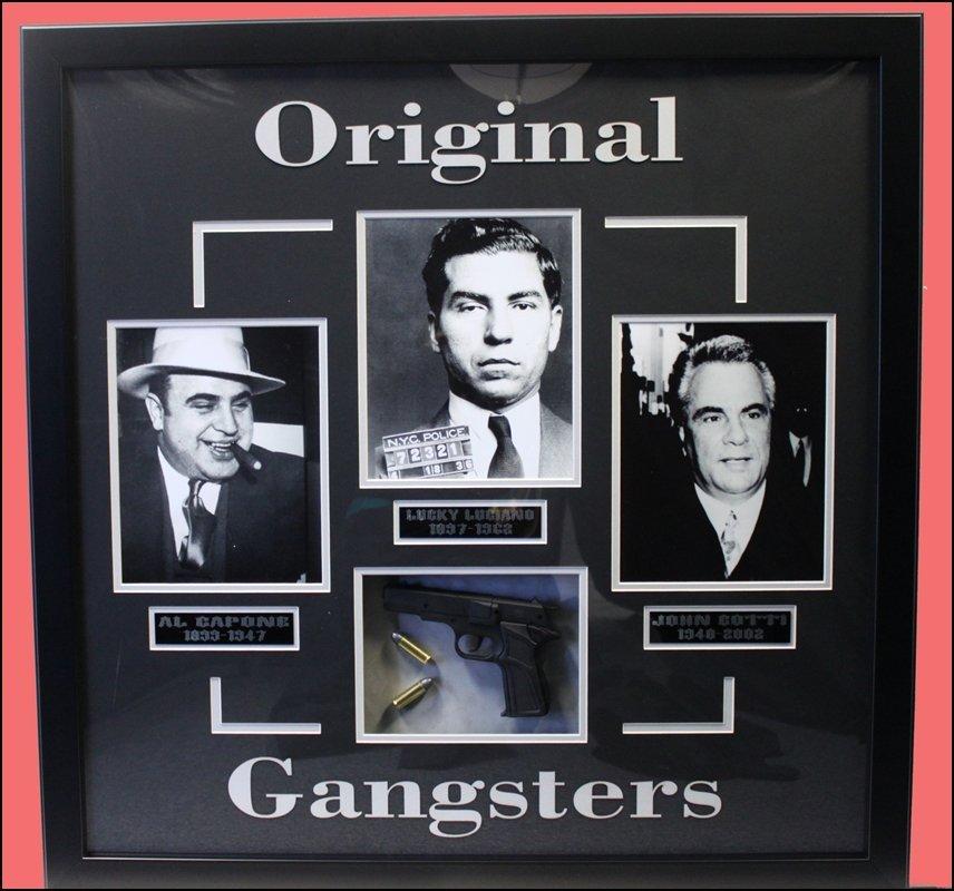 Original Gangsters - Al Capone - Lucky Luciano - John