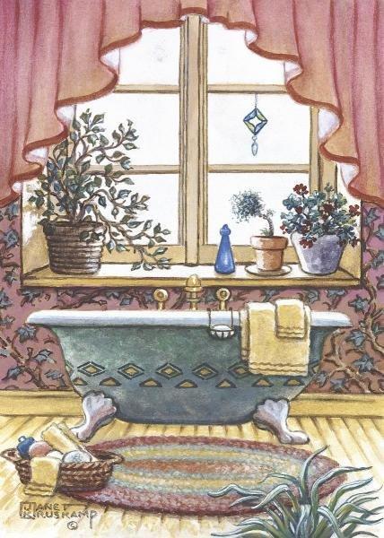JANET KRUSKAMP - VINTAGE BATHTUB L