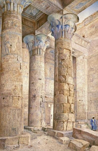 HENRY RODERICK NEWMAN - THE TEMPLE OF PHILAE, EGYPT