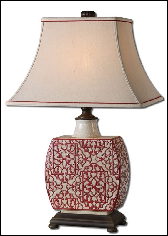 LINDSA IVORY TABLE LAMP