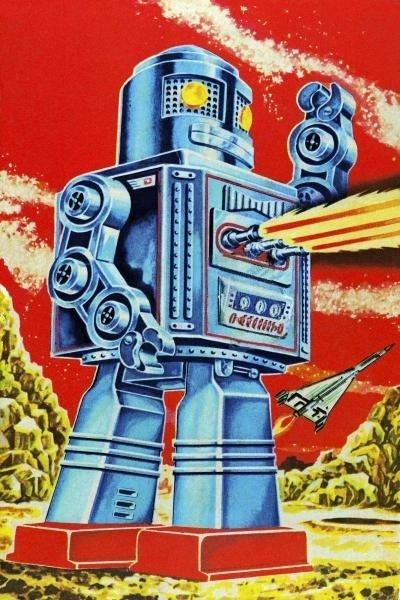 RETROBOT - ROBO - MOVIDO A PILHAS
