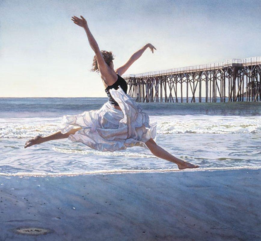 TO DANCE BEFORE THE SEA & SKY - STEVE HANKS