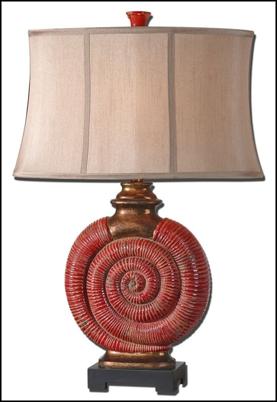 MELEZZO RED TABLE LAMP