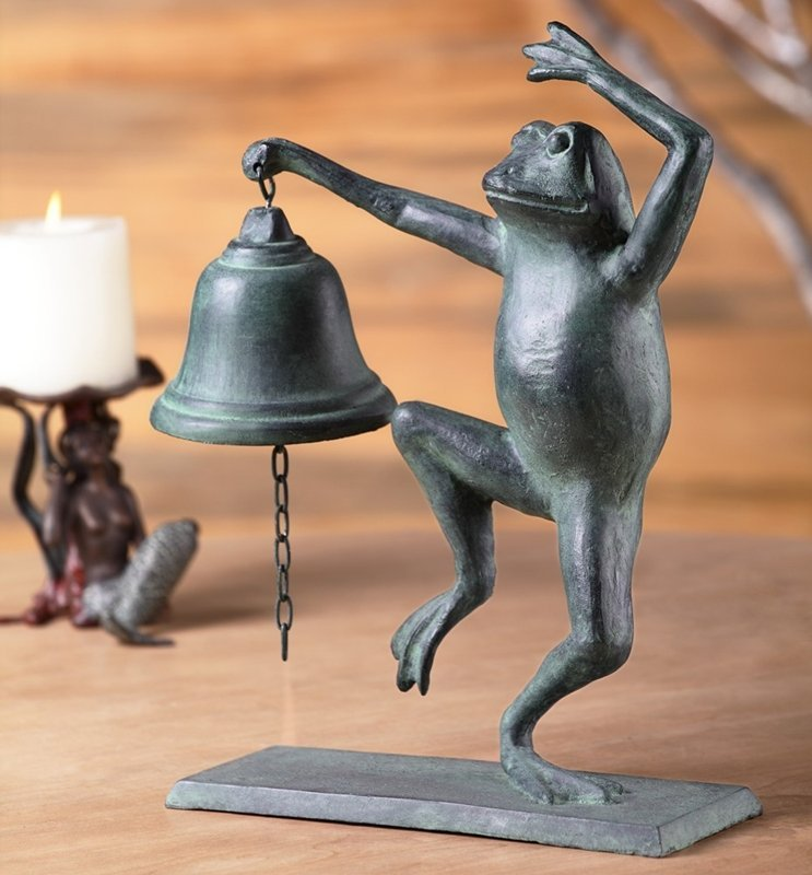 DANCING FROG TABLE BELL