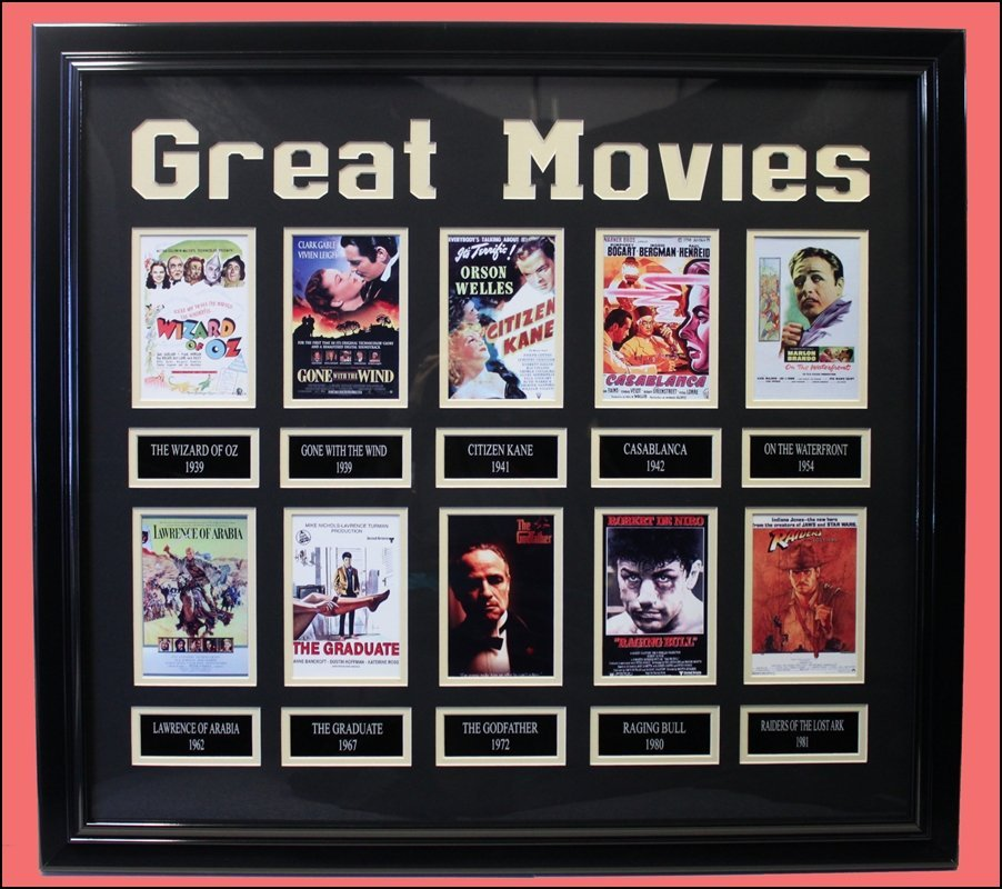 Great Movies - Collector Collage