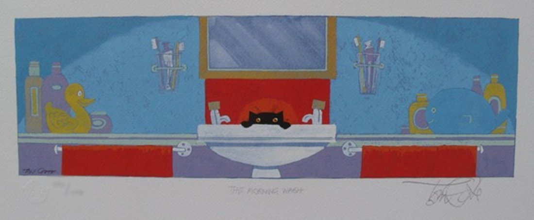 TONI GOFFE THE MORNING WASH HAND SIGNED LIMITED ED.