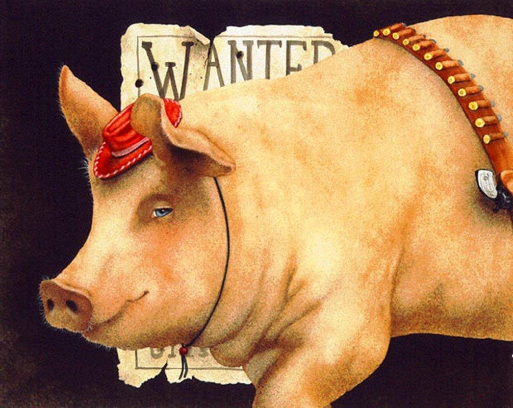 BILLY THE PIG - WILL BULLAS