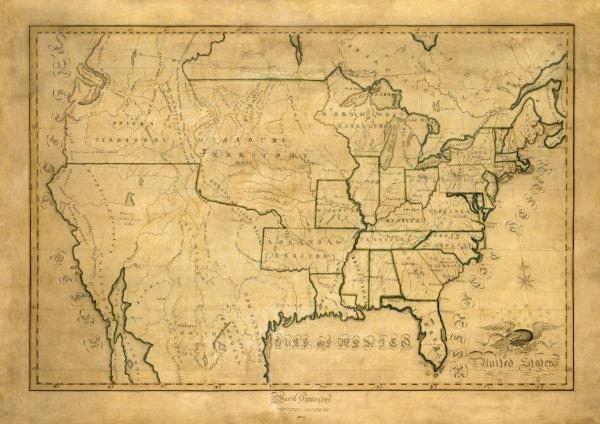 MARIA SYMONDS - UNITED STATES, 1830