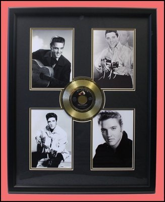 Elvis Presley - 4-Image - Golden Record Collage