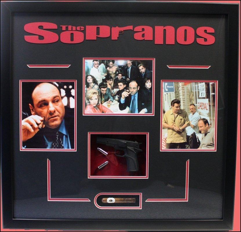 Sopranos -Art Giclee Collage