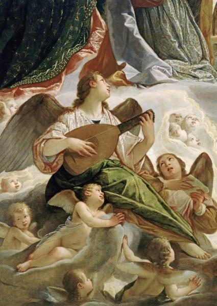 ANTONIO MARIA VIANINO - TRINITY WITH SAINTS URSULA AND