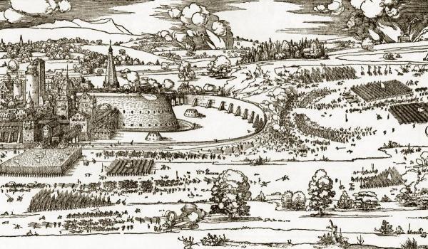 ALBRECHT DURER - THE SIEGE OF A FORTRESS 2