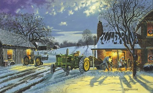 DAVE BARNHOUSE __WARMTH OF HOME ARTIST PROOF