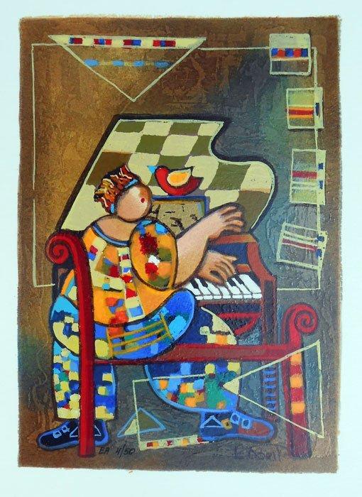 DORIT LEVI - THE GRAND PIANO