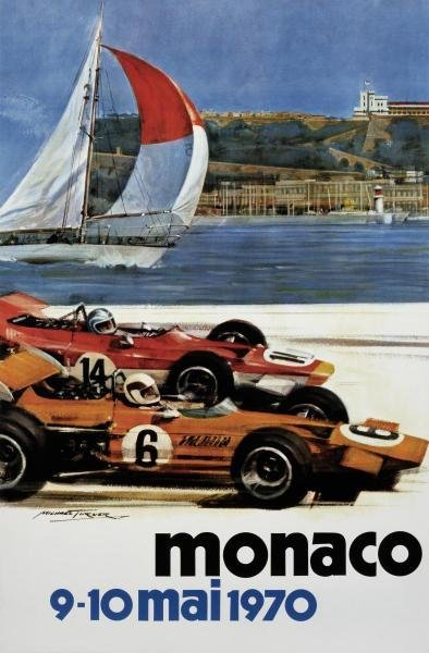 MICHAEL TURNER - MONACO / 9-10 MAI 1970