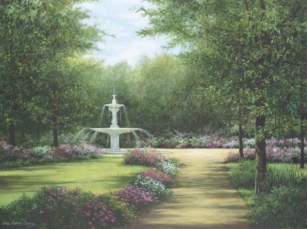 LENE ALSTON CASEY - PARK FOUNTAIN