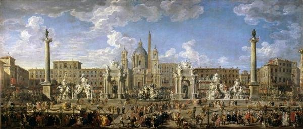 GIOVANNI PAOLO PANINI - PREPARATION OF THE FIREWORKS -
